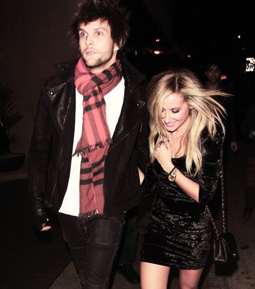 Martin Johnson et Ashley Tisdale