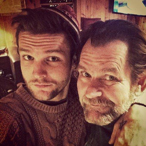 Martin et son père !