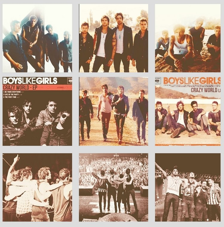 L'année 2012 des garçons!
