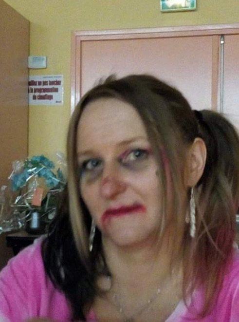 Harley Quinn ... Aux fiançailles de mon filleul