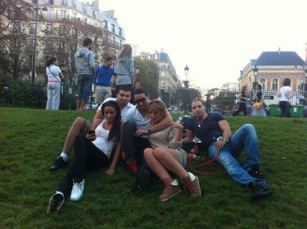 Paris c'est magique surtout la night