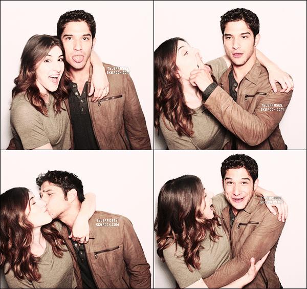 .• • Découvrez le photoshoot de Tyler et de sa fiancée Seana lors des MTV Movie Awards 2014 !