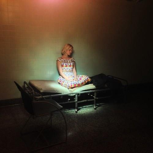 """Dianna sur le tournage de """"Headlock""""!"""