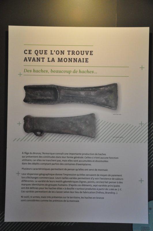 Mardi 18 juin 2019 : Châteaubriant (2) Expo : Trésors de la Loire Atlantique - Ce que l'on trouve avant la monnaie