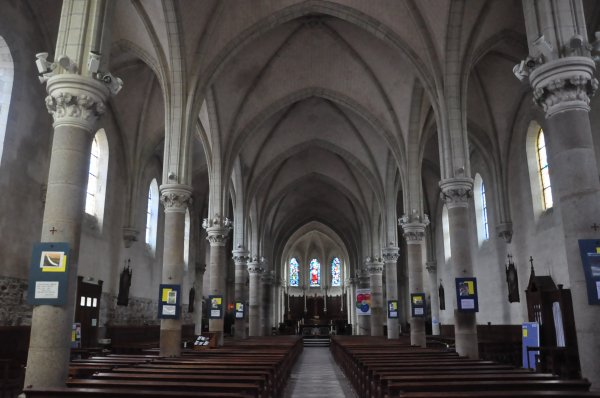 Lundi 24 juin 2019 : Mesanger et son église (1)
