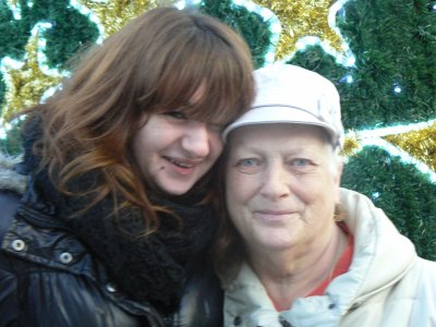 melodie et sa mamy