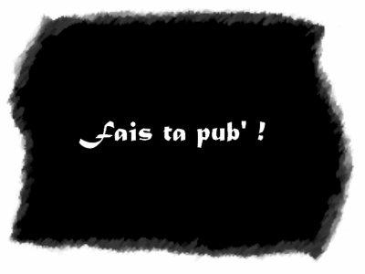 Laisse un pub' pour ton blog !