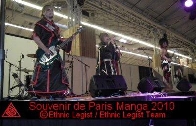 Souvenirs de Paris Manga 2010