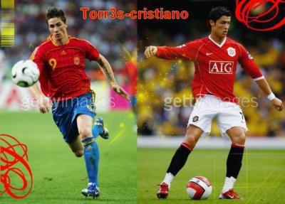 ronaldo vs torres