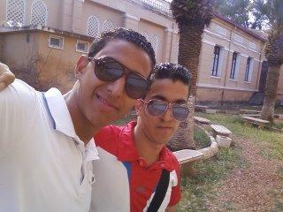 moi et mon ami mohamed