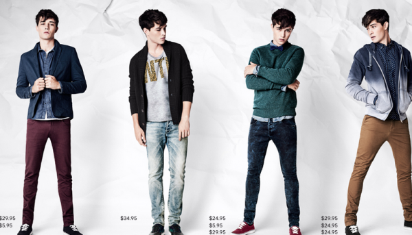 Men's Street Style for H&M 2012-2013