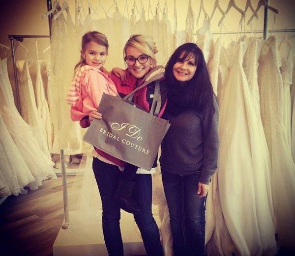 Jamie Lynn Spears a choisi sa robe de mariée !