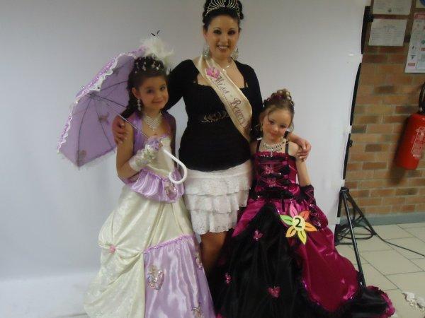 laura ,alizée et miss beuvry 2010