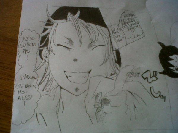 Dessin de manga pour le concours de Zenithou