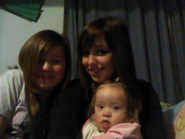 Bah moi et ma soeur on était mort de rire car ma petite soeur avait fait une bêtise et qu'elle faisais l'innocente