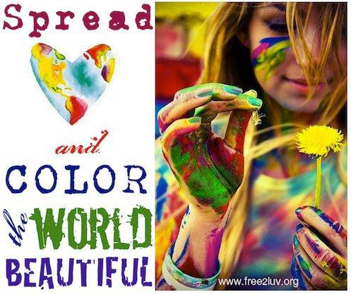 *:.Rendons ses couleurs au monde.:*