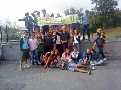 Toute la petite bande reunis pour l'anniversaire de Dudu :D