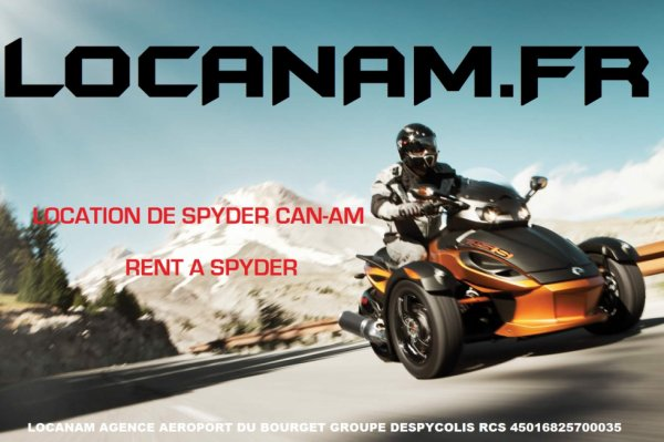rent Location Can-am Spyder