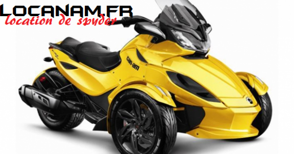 LOCATION CAN-AM SPYDER 998 Cm3