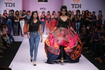 Ethinc & Indo-western looks dominate India Runway Week