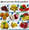 Quelle est ton fruit préférer