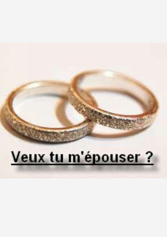 Un mariage, non mon mariage !