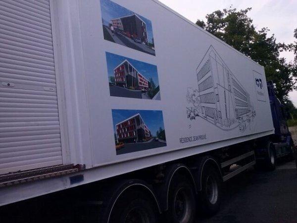 Container studio super pour partir en vacances