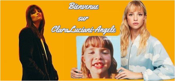 Bienvenue sur ClaraLuciani-Angele