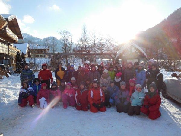 classe de neige 2017 LANA