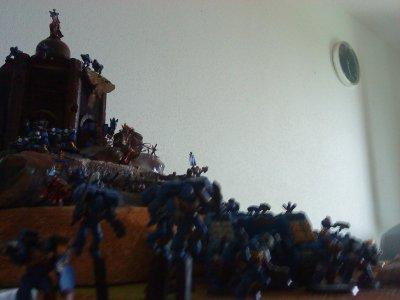 nouvelles photos de mon armée et de ma table de jeu