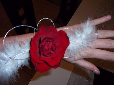 Bracelet floral romantique