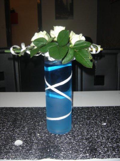Centre de table sur vase