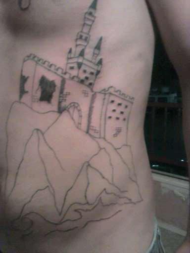 dragon + châteaux