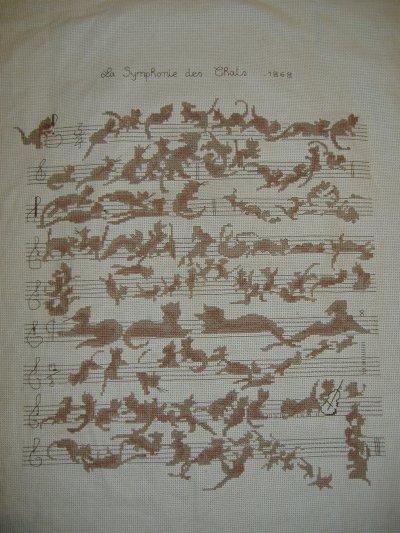 la symphonie des chats terminée