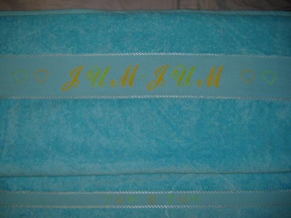 drap de bain pour une commande (vendu)