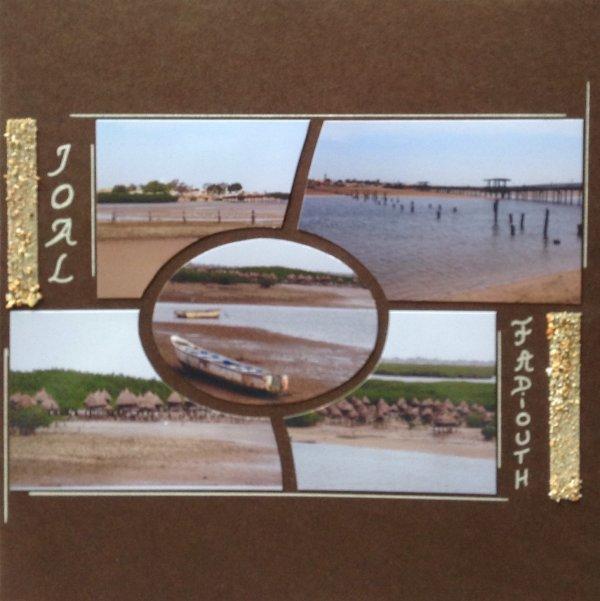 Voici quelques nouvelles pages avec des photos du Sénégal et utilisation de différents gabarits.