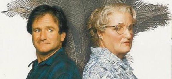Robin Williams nous quitte adieu Madame Doubtfire ..