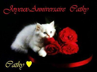 Pour Mon Amie Cat Joyeux Anniversaire Bizoux Blog De Tycacaty