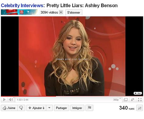 """Photoshoot absolument magnifique de notre Ashley pour le mag. """"Troix"""" !"""