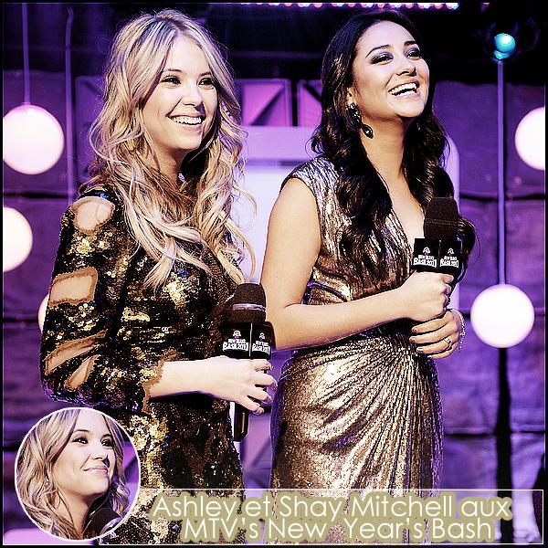 01 Janvier 2011 - Blondinette aux « MTV's New Year's Bash  » 2011 avec Shay Mitchell