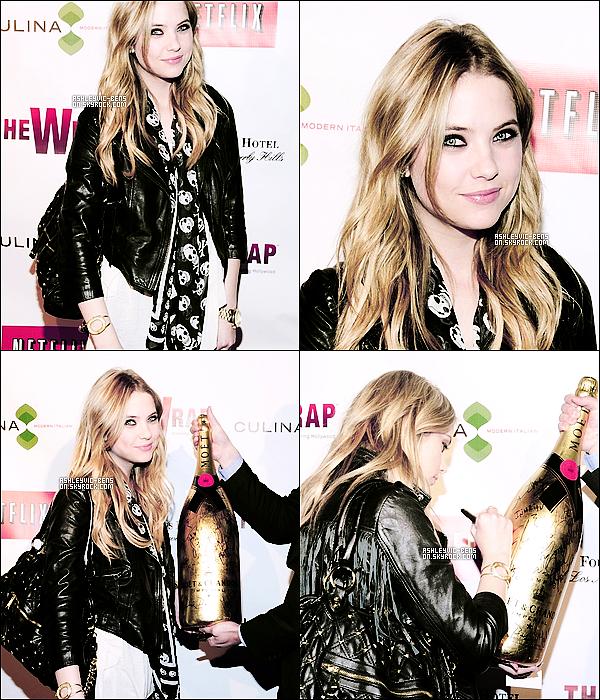 23/02/11 : Ashley s'est rendue aux « Wraps Award Season Celebration  », événement culinaire à L.A.