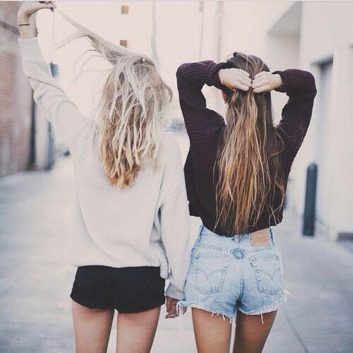Notre amitié plus forte que notre distance ♥