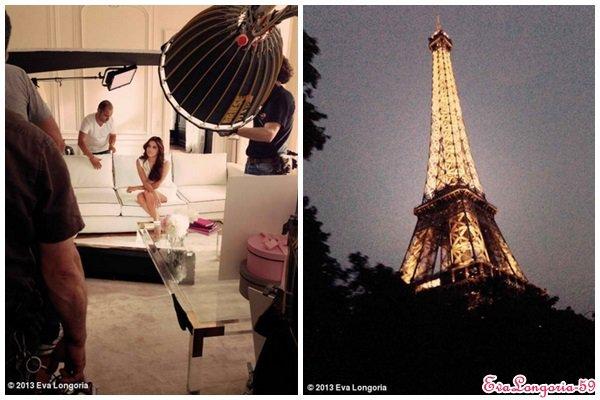 Eva Longoria à Paris