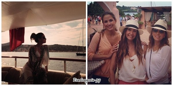 Eva Longoria le 1 et 2 Septembre 2013