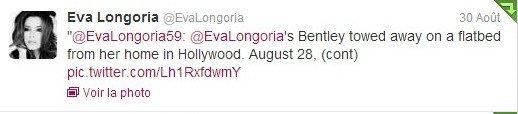 Eva Longoria et Twitter
