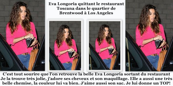Eva Longoria le 16 Septembre 2013