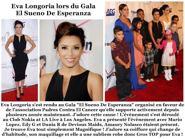 Eva Longoria le 24 Septembre 2013 (soir1)