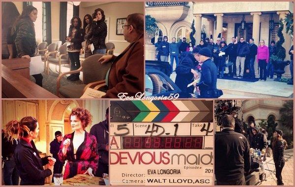 Eva Longoria . Devious Maids Janvier 2014
