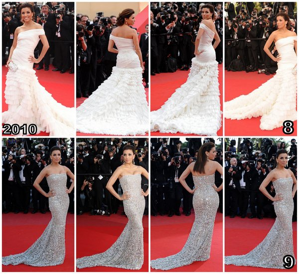 Eva Longoria . Festival de Cannes 2005-2013
