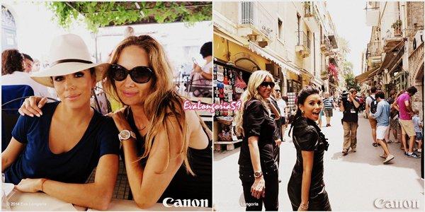 Eva Longoria . Italie . Juin 2014